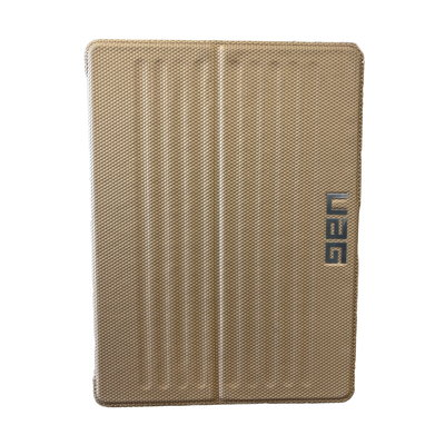 UAG UAG - Metropolis - Bookcase Hoesje - iPad 2018/2017 - Goud