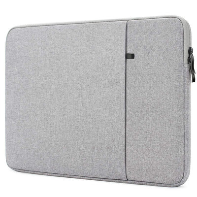 iPadspullekes.nl iPad luxe 11.6 inch sleeve licht grijs