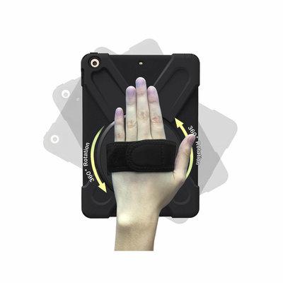iPadspullekes.nl iPad 2019 10.2 Protector Hoes met handvat en schouderriem en standaard