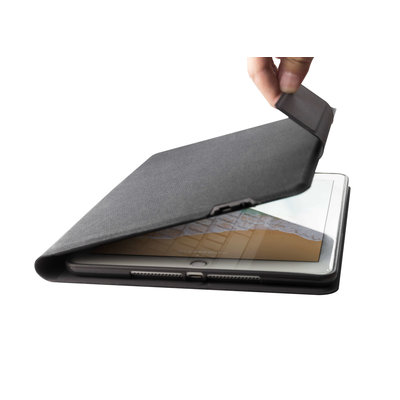iPadspullekes.nl iPad 10.2 (2019) Smart Folio Bluetooth Toetsenbord - Bookcase - Magnetisch - Bluetooth - Zwart