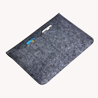 iPadspullekes.nl iPad 2019 10.2 Casual Sleeve Donker Grijs