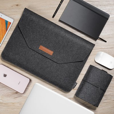 iPadspullekes.nl iPad Air 2019 Casual Sleeve Donker Grijs