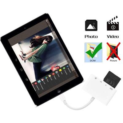 iPadspullekes.nl Camera connection kit 4 in 1 Lightning