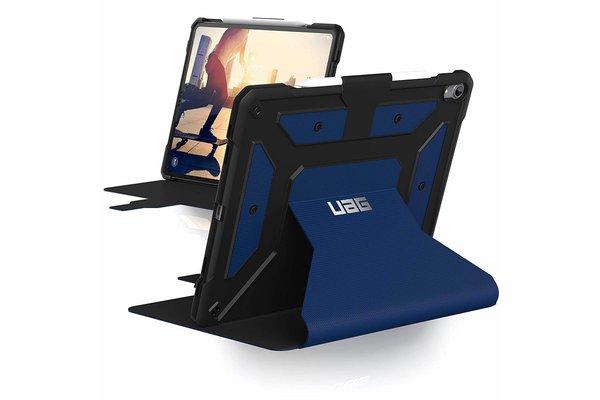 UAG UAG - iPad Air (2019) Hoes - Metropolis Bookcase hoesje - Robuuste cover - Air 2019/Pro 10.5 - Blauw
