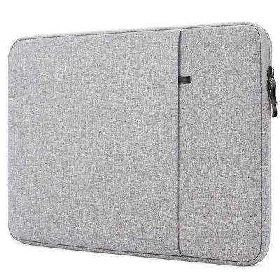 iPadspullekes.nl iPad luxe 14 inch sleeve licht grijs