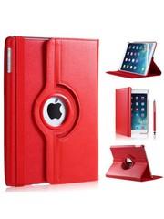 iPadspullekes.nl iPad Air  hoes 360 graden rood leer