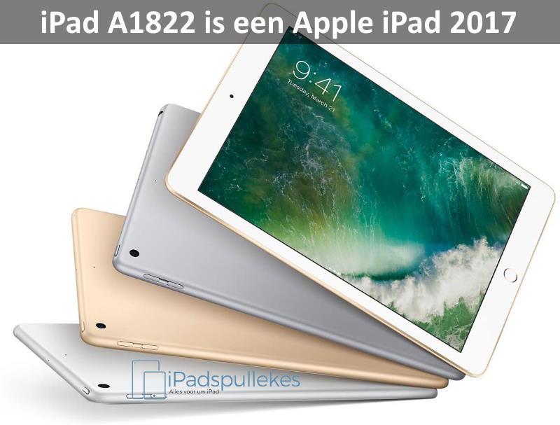 iPad A1822 A1823 Apple iPad 2017 (5e generatie)