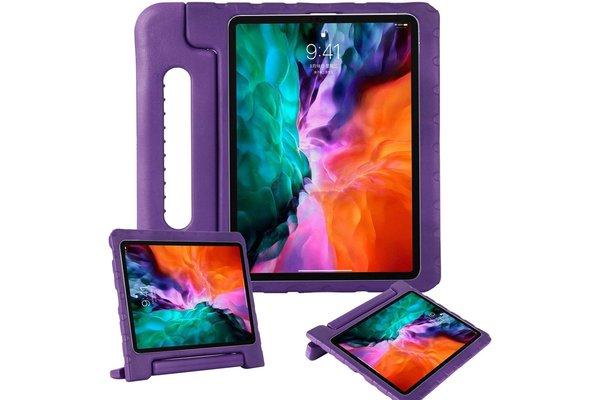 iPadspullekes.nl iPad Pro 12,9 Inch 2020 & 2021 kinderhoes Paars