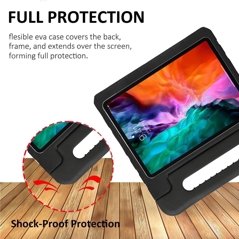 iPad Pro 12,9 Inch 2020 & 2021 kinderhoes Zwart ...