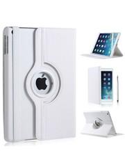 iPadspullekes.nl iPad Air hoes 360 graden wit leer