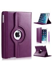 iPadspullekes.nl iPad Air hoes 360 graden paars leer