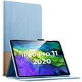 ESR iPad Pro 12.9 2020 hoes Design Blauw/Bruin