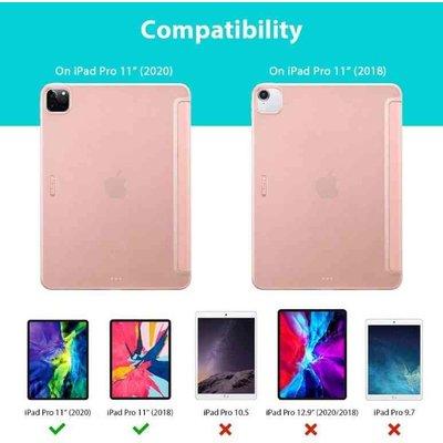 ESR iPad Pro 11 (2020) Smart Cover Case Roze ESR