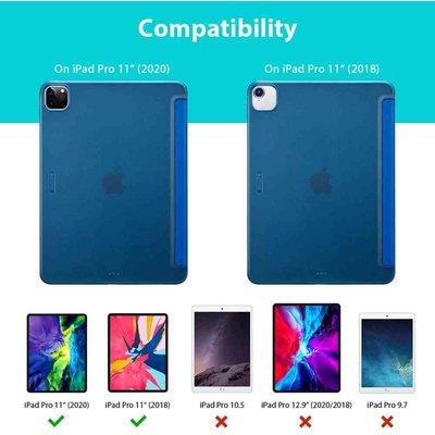 ESR iPad Pro 11 (2020) Smart Cover Case Blauw