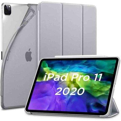 ESR iPad Pro 12.9 (2020) Smart Cover Case Grijs