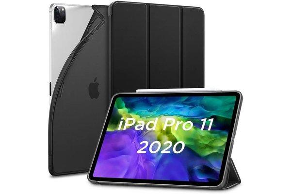 ESR iPad Pro 12.9 (2020) Smart Cover Case Zwart