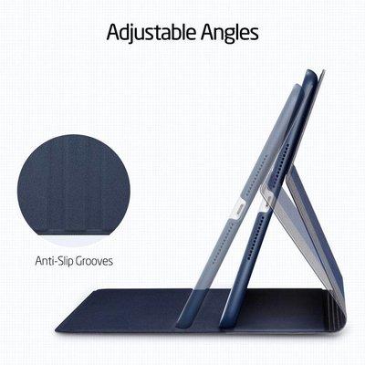 ESR iPad Pro 12.9 2020 hoes Design blauw grijs