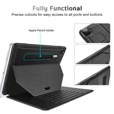 ESR iPad Pro 12.9 2020 & 2018 hoes - Extra beschermend Zwart ESR SENTRY