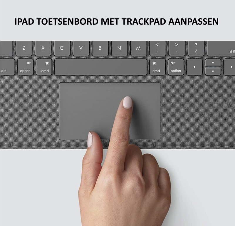 iPad toetsenbord met trackpad aanpassen   Haal het maximale uit je iPad toetsenbord met trackpad