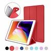 iPadspullekes.nl iPad 2020 10.2 Inch Smart Cover Case Rood