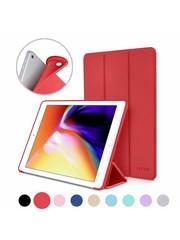 iPadspullekes.nl iPad 2020/2021 10.2 Inch Smart Cover Case Rood