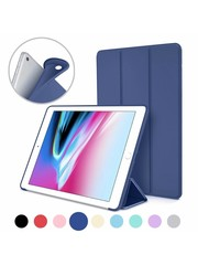 iPadspullekes.nl iPad 2020/2021 10.2 Inch Smart Cover Case Blauw