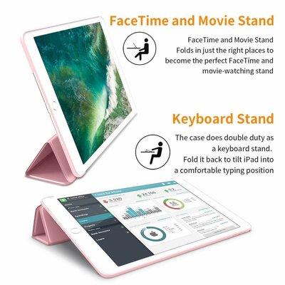 iPadspullekes.nl iPad 2020 10.2 Inch Smart Cover Case Licht Roze