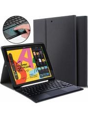 iPadspullekes.nl iPad 2020 10.2 Inch Toetsenbord met touchpad Zwart