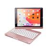 iPadspullekes.nl iPad 2020 10.2 Inch toetsenbord draaibare case roze