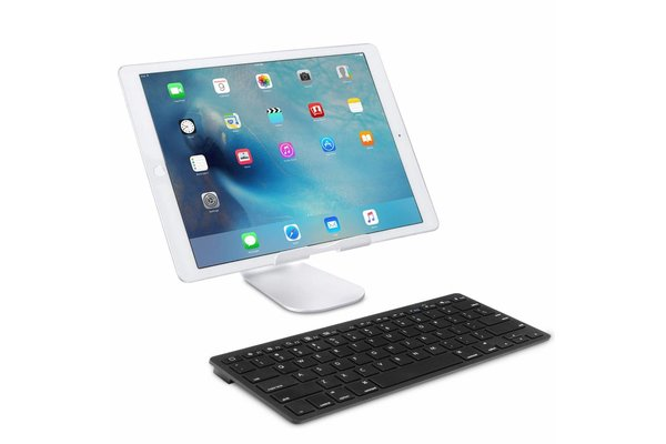iPadspullekes.nl iPad 2020 10.2 Inch draadloos bluetooth toetsenbord zwart