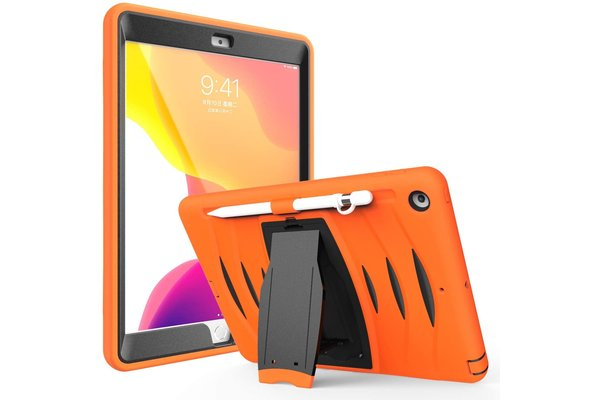 iPadspullekes.nl iPad 2019/2020/2021 10.2-inch hoes protector oranje