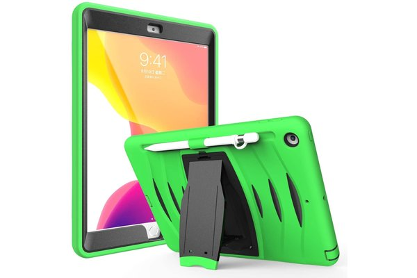 iPadspullekes.nl iPad 2019/2020 10.2-inch hoes protector groen