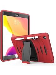 iPadspullekes.nl iPad 2019/2020 10.2-inch hoes protector rood