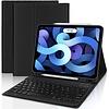 iPadspullekes.nl iPad Air 2020 10.9-inch toetsenbord afneembaar zwart