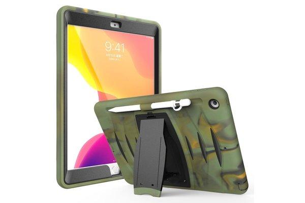 iPadspullekes.nl iPad 2019/2020 10.2-inch hoes protector camouflage