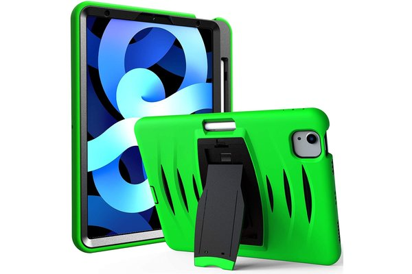 iPadspullekes.nl iPad Air 2020 10.9-inch hoes protector groen