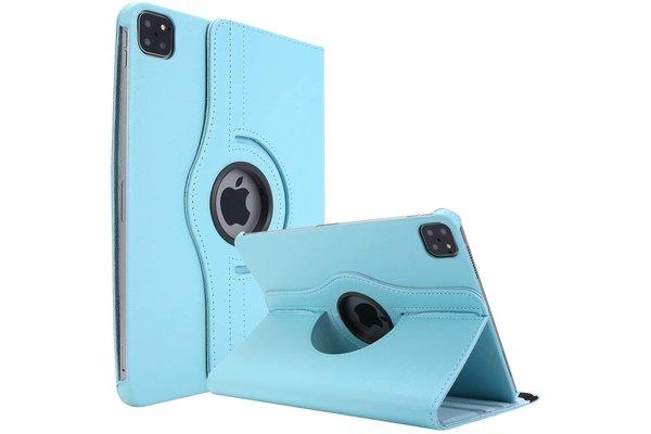 iPadspullekes.nl iPad Air 2020 10.9-inch 360 graden hoes licht blauw