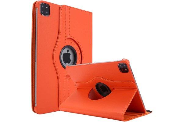 iPadspullekes.nl iPad Air 2020 10.9-Inch / iPad Pro 2020 11-inch 360 graden hoes oranje
