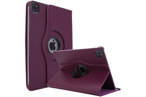 iPadspullekes.nl iPad Air 2020 10.9-Inch / iPad Pro 2020 11-inch 360 graden hoes paars
