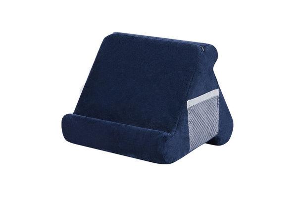 Pillow Pillow Pad - Tablet kussen - Tablethouder marineblauw