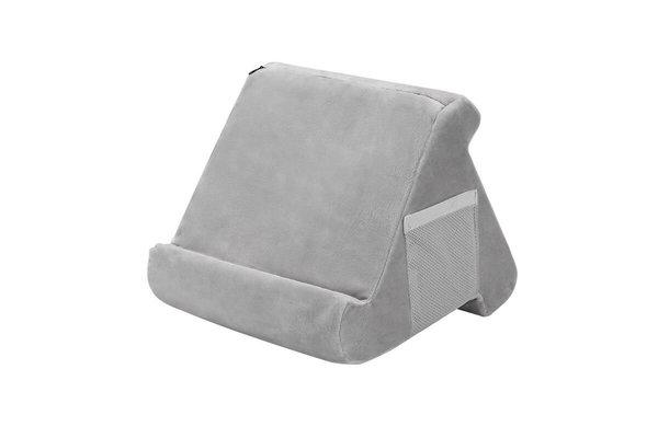 Pillow Pillow Pad - Tablet kussen - Tablethouder licht grijs