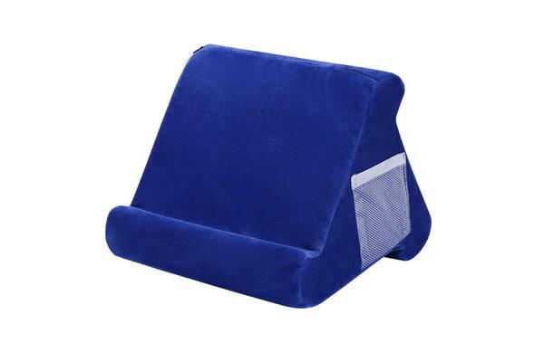 Pillow Pillow Pad - Tablet kussen - Tablethouder blauw