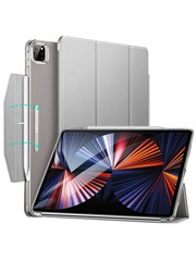 ESR ESR Trifold Case iPad Pro 2021 12.9-inch grijs