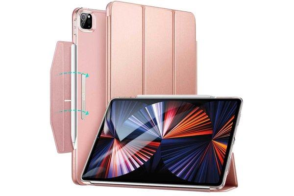 ESR ESR Trifold Case iPad Pro 2021 12.9-inch roze