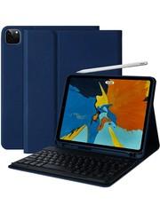 iPadspullekes.nl iPad Pro 2020 11-inch toetsenbord afneembaar blauw