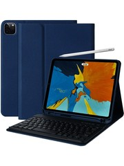 iPadspullekes.nl iPad Air 2020 10.9-inch toetsenbord afneembaar blauw