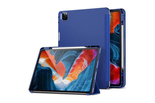 ESR ESR Rebound Pencil Case iPad Pro 2021 12.9-inch blauw