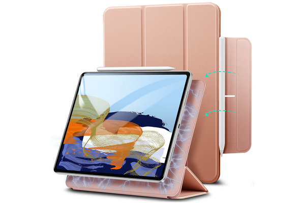 ESR ESR - Rebound Magnetic with Claps iPad Pro 2020/2021 11-Inch Case roze