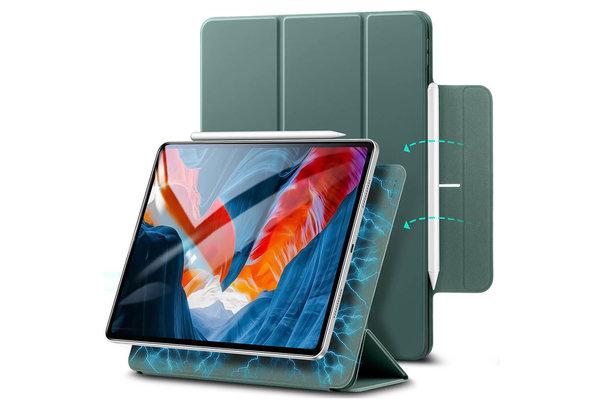 ESR ESR - Rebound Magnetic with Claps iPad Pro 2021 12.9-Inch Case groen
