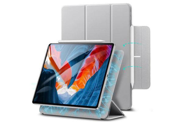 ESR ESR - Rebound Magnetic with Claps iPad Pro 2021 12.9-Inch Case zilver